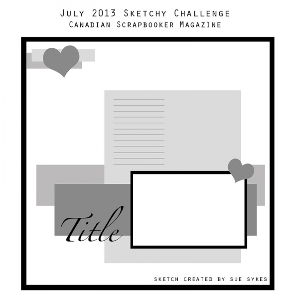 July 2013 Sketchy Challenge