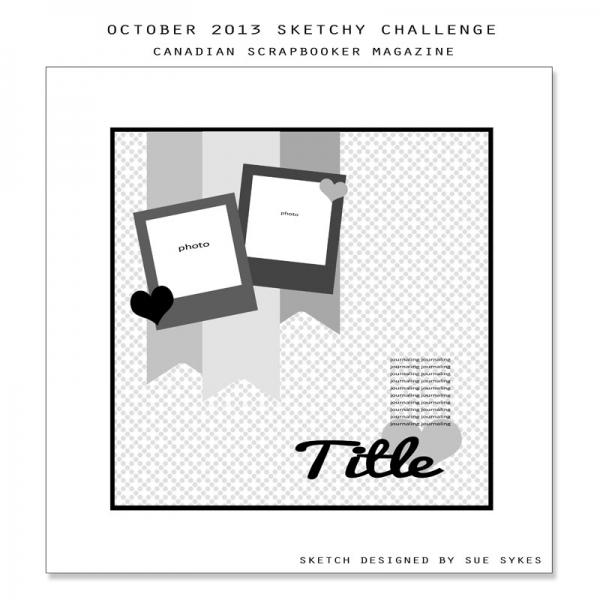 October 2013 Sketchy Challenge